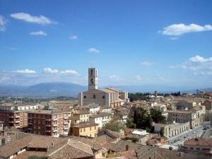 Il panorama di Perugia