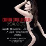 Chiara Civello oggi a Modica