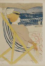 Henri de Toulouse-Lautrec 1896 lithography (printed in six colours) 610 x 447 mm