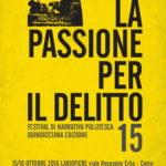 La Passione per il Delitto: festival di letteratura poliziesca