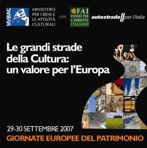 Logo Giornate Europee Patrimonio 2007