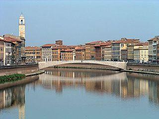 Ponte di Mezzo sull'Arno
